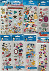 U CHOOSE Assorted Disney MICKEY & FRIENDS 3D Stickers minnie daisy donald goofy