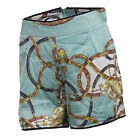 Ladies Glamorous Printed Shorts In Mint Green From Get The Label