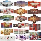 colorful abstract art - Colorful Abstract Flower Art Oil Canvas Painting Picture Print Set Decor Noframe