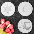Turtle Moon Silicone Mold Mould 3D For Resin Pendant Jewelry Cake Making Tool