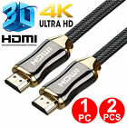 1x 2x 5FT Premium Ultra High Speed HD HDMI Cable V2.0 Ethernet HDTV 4K 3D 2160P