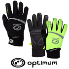 Optimum Sports Hawkley Autumn Winter Thermal Padded Junior Cycling Gloves