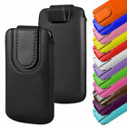 For Vodafone Smart N8 - Magnetic PU Leather Pull Flip Tab Case Cover Pouch