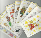 """U CHOOSE  * Assorted SUZY'S ZOO flat Stickers (4 sheet pack) 4-1/2"""" X 6""""  poodle"""