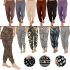 New Womens Harem Full Length Ali Baba Hareem Pants Trousers Plus Size S M L XL 8