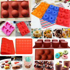 Silicone Heart Muffin Cupcake Pan Mold Chocolate Cake Candy Cookie Baking Tools