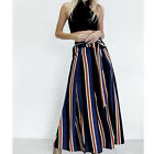 Womens Summer Loose Palazzo High Waist Casual Wide Leg Trousers Loose Pants Lot