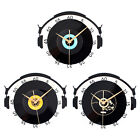 Acrylic Music Space Clock 3D CD Album Retro Nostalgia Art Wall Clock Decor