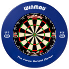 Winmau Blade 5 FIVE Dart Board & Surround Select: Green Orange Red Black White