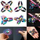 New Rainbow Alloy Figet Spinner Hand Toy Spinner EDC Fidget Spinner Autism ADHD