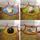 Breathable Mesh Pet Hammock Hanging Bed House Cage for Rat Hamster Mouse Rabbits