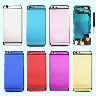 "Multicolor Metal Back Battery Housing Cover Assembly For iPhone 6SP 5.5"" repair"