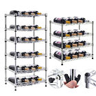 4/6 Tiers Bottles Wine Rack Shelf Bottle Holder Organizer Display Liquor Storage