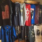 Graphic TShirts  Hard Ten, Peanuts, Star Wars, Patriotic, Just Fun, Sizes Colors $15.0 USD