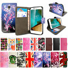 For Vodafone Smart Phones - Flip Wallet Leather Stand Case Cover + Free Stylus