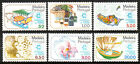 Portugal Madeira 68-73, MNH.Tourism.Bullock car;Grapes;Produce;Lace;Orchid;1980