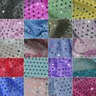 Sparkly Round Sequin 3mm Shiny Polyester Dress Craft Fabric