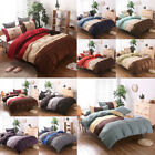 Lightweight Microfiber Duvet Cover Sets, Printing Duvet Cover Set 3pcs Bed Sets