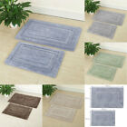Bath Rugs Craft Bathroom Mats Set Memory Cotton Interlayer Anti-skid Back 2 in 1