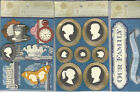 U CHOOSE   Anna Griffin WILLOW COLLECTION 3D Stickers family title cameo watch