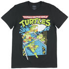 Teenage Mutant Ninja Turtles T-shirt Mens Black Tmnt