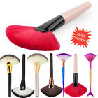 Pro Makeup Cosmetic Fan Brush Blending Highlighter Contour Face Powder Brush