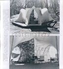 1977 Wire Photo Optimus 200 Spacious Camping Tent