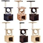 "36"" Prevent Scratch Post Home Pet Cat Tree House Play Condo Furniture Toys Kids"
