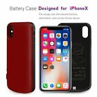 For iPhone X 8 7 6 Plus 10000mAh External Backup Battery Case Power Bank Charger
