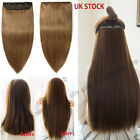 AAA+ Clip in Human Hair Extensions ONE PIECE Weft 100% Real Remy Hair Brown A666