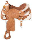 Silver Royal Rio Grande Youth Silver Show Saddle - Silver Star Trim