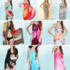 New Chiffon Wrap Pareo Dress Sarong Beach Bikini Swimwear Cover Up Scarf
