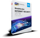 BITDEFENDER INTERNET SECURITY 2018 - Fast Delivery (eDelivery)