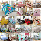 DUVET COVER WITH PILLOW CASE QUILT COVER BEDDING SET SINGLE DOUBLE KING SUPER K