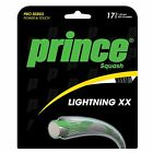 Prince Lightning XX Squash Racquet String Set - 17 (1.25mm), 10m / 33ft