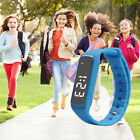 Children Fitbit Style Activity Tracker Pedometer Step Counter Fitness Yoga Band