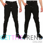 Mens Trousers Men Slim Fit Jogger Pants Boys Urban Hip-Hop Elastic Bottoms