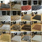 New Modern Trellis Living Room Rugs Small Large Quality Soft Easy Lounge Mats