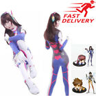 Overwatch Bodysuits D.Va OW Game Cosplay Costume Figures Cosplay Lot Adult props