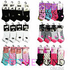 Women Socks Ladies Trainer Sneaker Ankle Length Sock Bargain 6/12/24 Pairs New
