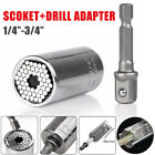 Magic Connecting Gator Universal Socket Wrench Sleeve Grip Drill Adapter Tool.