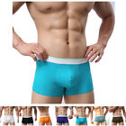 Men's New Men's Fashion Sexy Boxer Briefs Trunks Underwear Shorts Bulge