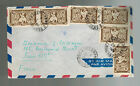1950 Phnom Penh Cabodia  Airmail Cover to Paris France