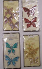 U CHOOSE  Assorted Recollections JEWELED BUTTERFLIES 3D Stickers gems jewels