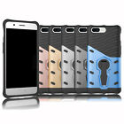 """Rubber Slim Hybrid Hard Armor Case Protective Stand Cover For 5.5"""" Oneplus 5"""