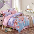 Cotton Floral Duvet Quilt Doona Cover Set Single/Queen/King Size Bed Covers New