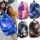 Unisex Space Galaxy Backpack Travel Rucksack Canvas Bag Bookbag Satchel GIFT
