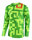 NEW 2018 TROY LEE DESIGNS TLD GP MAZE MOTO MX JERSEY FLO YELLOW/GREEN ALL SIZES