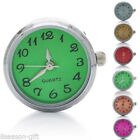 Gift Wholesale Quartz Watch Face  Snap Button 5.5mm  Round 24 x21.5 x12mm