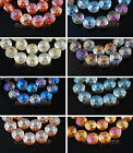 10pcs14mm Polish Rondelle Faceted Crystal Glass Loose Spacer Beads DIY Jewelry